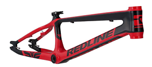 RojoLINE bicicletas FLIGHT Carbono Pro XXL Cuadro De Bmx Rojo Negro 21.7 Bicicletas RACE 2019