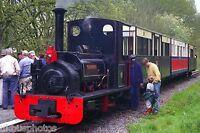Alan George 0-4-0st, Henllan Teifi Valley Railway, Dyfed Rail Photo