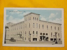 THE SIDNEY  HOTEL SPARTA WIS WISC WI WISCONSIN POSTCARD POST CARD