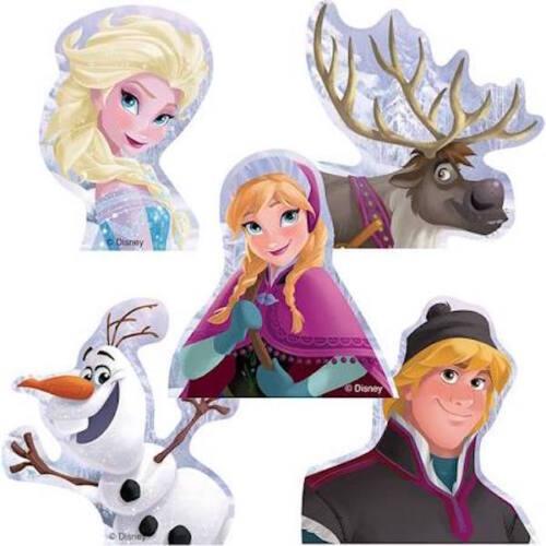 25 Disney Frozen Shaped Stickers Party Favors Olaf Anna Elsa Kristoff Sven