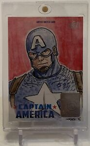 CAPTAIN-AMERICA-MARVEL-ARTIST-MARK-ALAN-PEASLEY-ART-SKETCH-AUTOGRAPH-CARD-1-1