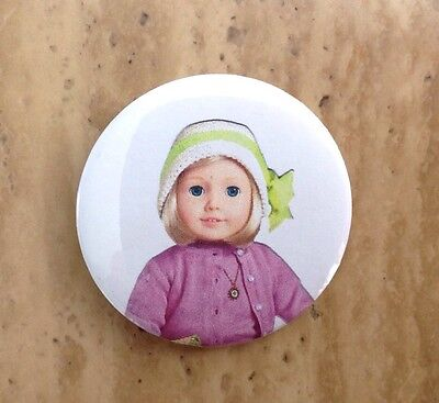 "American Girl Doll Kit Button Badge 2.25/"" Pin Party Favor Gift Accessory  New"
