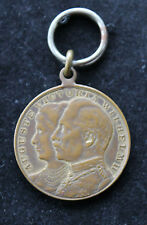 Original Medaille Silberne Hochzeit Kaiser Wilhelm und Victoria 1881 - 1906