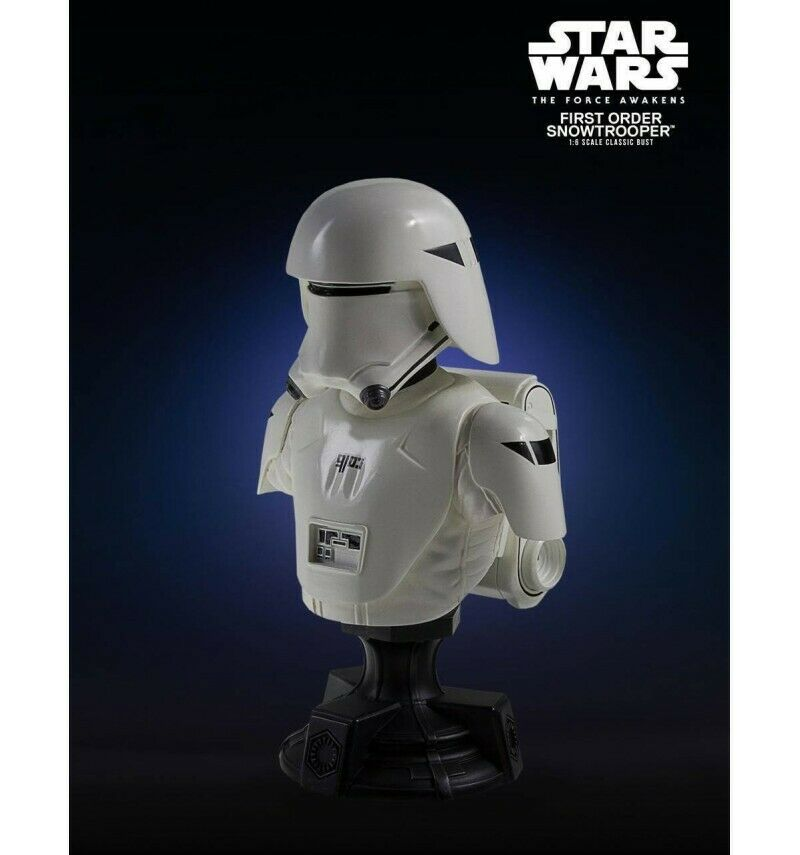 Star Wars Episode VII buste 1 6 First Order Snowtrooper PGM Exclusive 13 cm