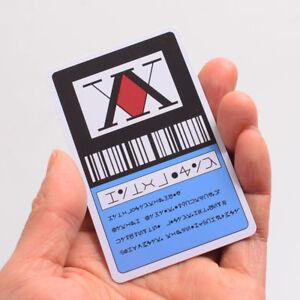 Anime-Hunter-x-Hunter-1-Star-Hunter-License-Card-Gon-Freecss-Cosplay-Card-1PC