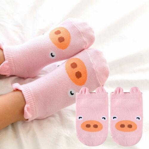 2019 Baby Jungen Mädchen Niedlich Karikatur Baumwollsocken Baby Kleinkind Kinder