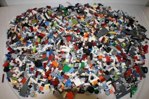 1000+ 2.5 Pounds Clean Lego Pieces HUGE LOT MINIFIGURES Washed and Sanitized