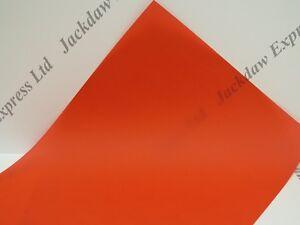 10 X Rouge Vélin A4 100gsmtranslucent Papier Fabrication Cartes De