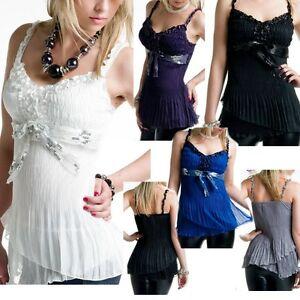 Sexy-Miss-Damen-Girly-Romantic-Plissee-Chiffon-Top-Designer-Style-Babydoll-XS-S