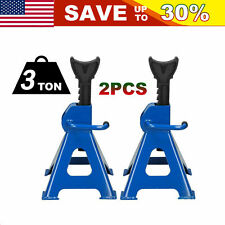 1 Pair Racing Jack Stands 3 Ton Heavy Duty For Car Truck Auto Lift Floor Jack Us