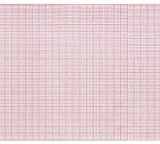 ECG Paper 108MM X 23M RED GRID ROLL (Works for PHYSIO CONTROL LIFEPACK PK 5