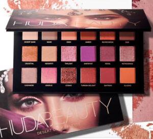 2018 New Huda Beauty Desert Dusk Eye Shadows Palette Eye Shadows 18 Colors