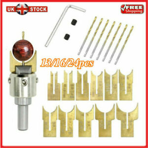 UK-Wood-Bead-Maker-Beads-Drill-Bit-Milling-Cutter-Set-Woodworking-Tool-HOT-Z