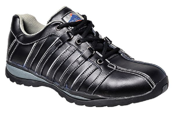 PORTWEST SPORTY STEELITE ARX SAFETY TRAINER SHOE STEEL TOECAP FW33 SIZES 4-14