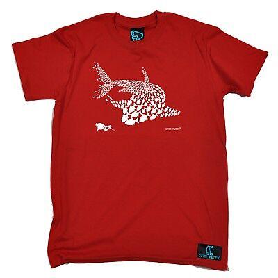 Generoso Immersione Pesce Squalo Subacqueo Sommozzatore Serbatoio Maschera Divertente Regalo Di Compleanno T-shirt T-shirt-