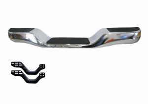 Rear Chrome Step Bumper Bar for Toyota Hilux with Bracket RN8#/LN10#/R 1989-2005