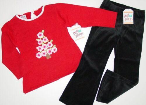 NWT Sweet Potatoes X-Mas Outfit sz 4 5 6 6X Christmas