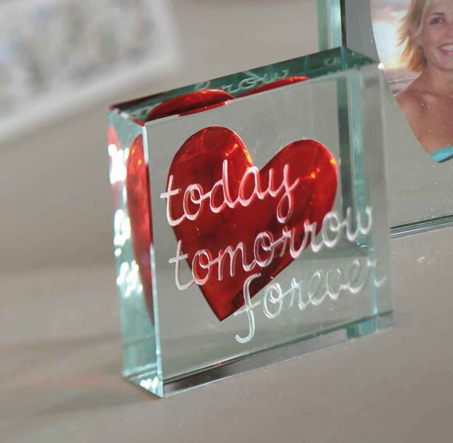 Eform Paperweight Today Tomorrow Love Gifts For Her Him 1589