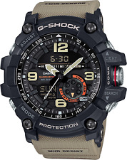 CASIO Men's  MUDMASTER G-Shock Sport Watch Black/Tan  Water Resistant GG1000-1A5