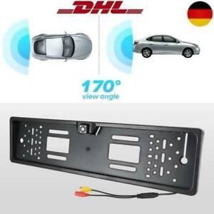 170° IR LED Rückfahrkamera kennzeichen Halter Einparkhilfe Kfz Nachtsicht