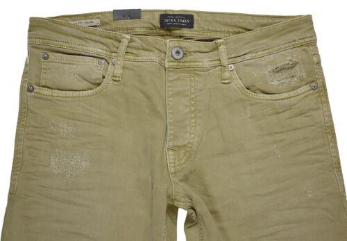 Jack /& Jones Glenn Original Jos 400 Kelp Slim Fit Herren Jeans Hosen sale 2-1156