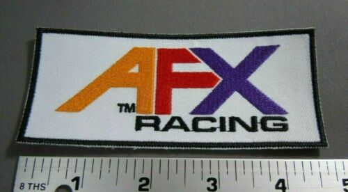 """4.5 x 2/"""" Aurora Slot Car Racing AFX Iron-On Embroidered Patch"""