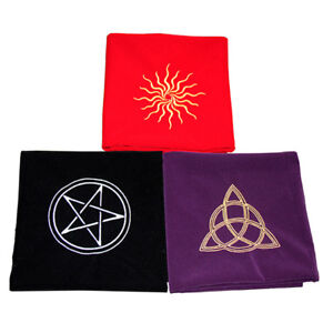 Tarot-Cards-Table-Cloth-Tablecloth-Divination-Velvet-Board-Game-Play-Mat-UK-FB