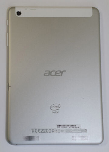 Acer Iconia Tab A1-830 Silver Back Cover Power Volume Button 3DNKDLC0000