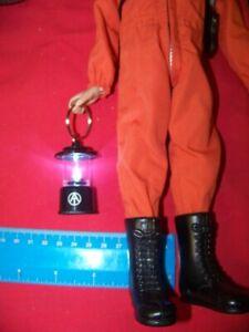1:6 Scale GI Joe Adventure Team Light Up Camping Lantern Red Keychain