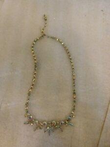 Vintage-Sherman-Aurora-Borealis-Rhinestone-Necklace