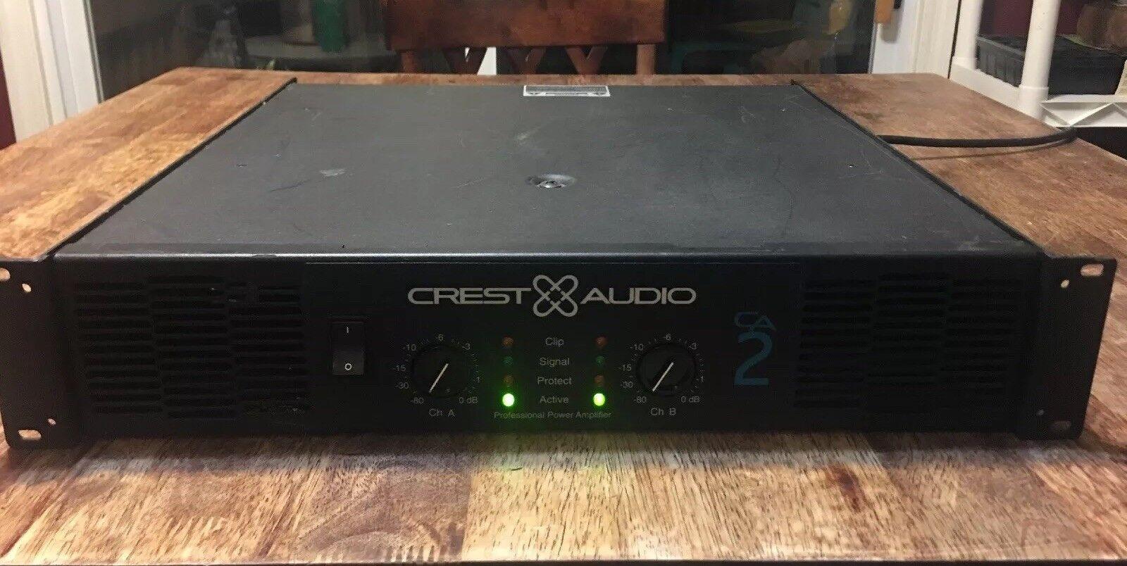 CREST Audio CA2 CA2 CA2 Power Amp Amplificador a184b5