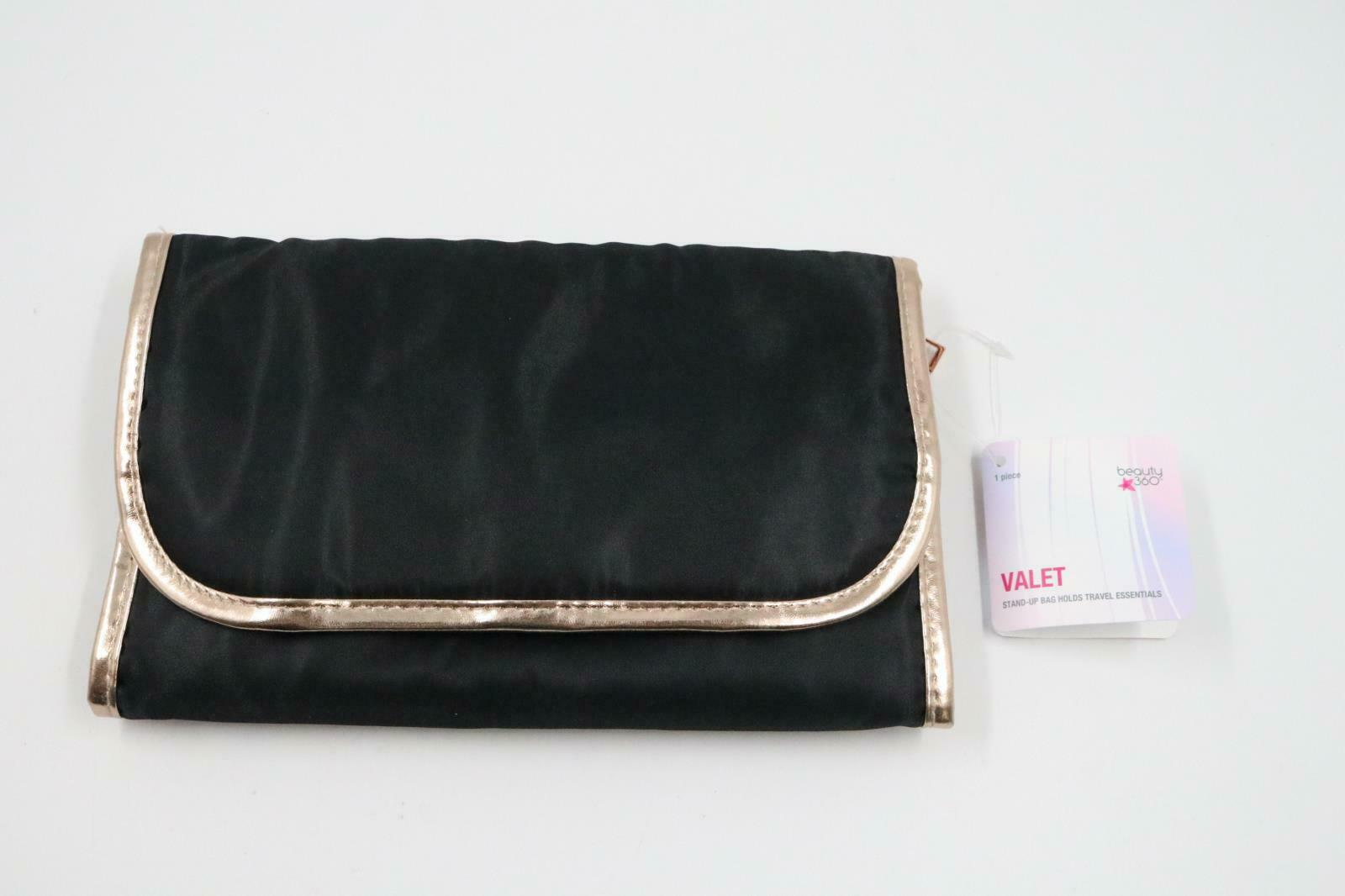 brand new Beauty 360 Travel Pouch Valet Cosmetic Organizer that is hanging Bag - s l1600