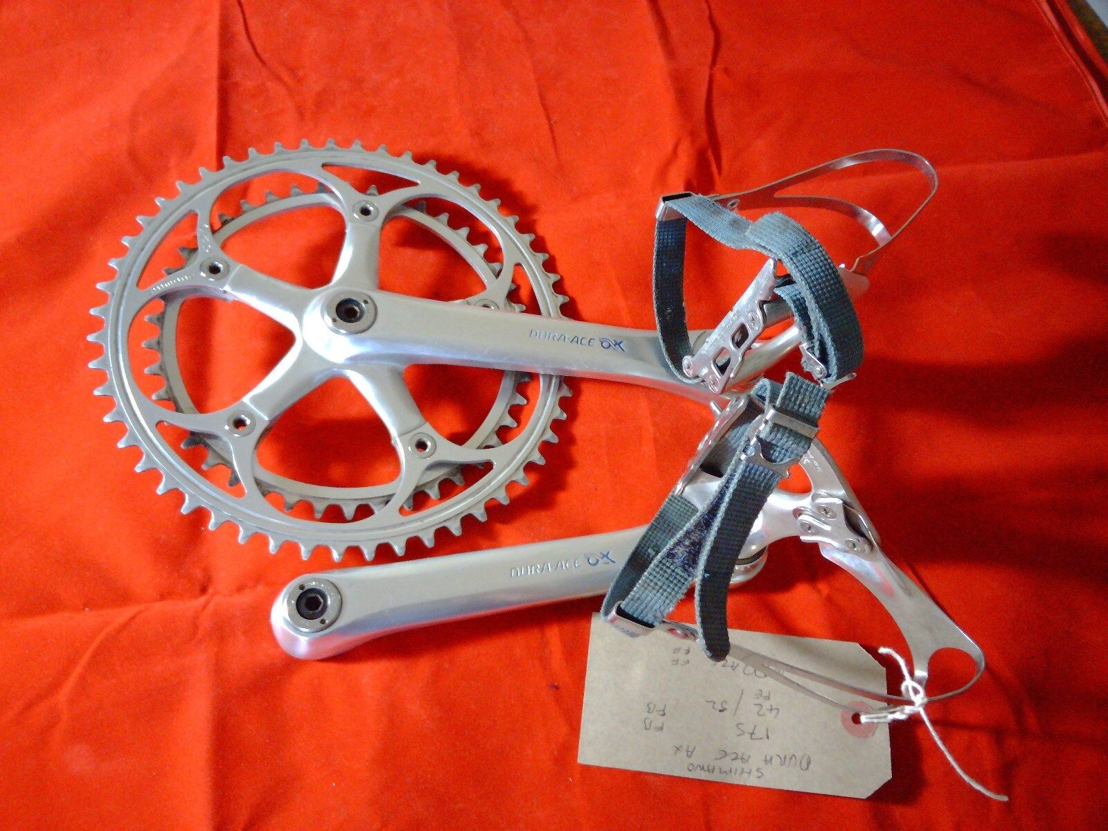 SHIMANO DURA ACE AX FC-7300 pedalier & DURA ACE AX PD-7300 DYNADRIVE Pedales