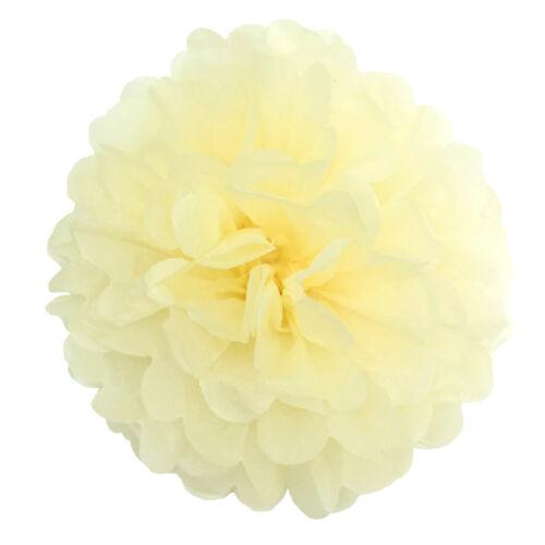 "Paper Tissue Pom Poms 6/"" 10/"" 14/"" Wedding Festival Party Flower Pompom New"