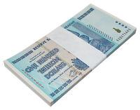 Zimbabwe 100 Trillion Dollar Banknote X 50 PCS, 2008, AA Series, NEW