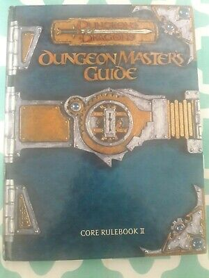 Dungeon Master/'s Guide for Dungeons /& Dragons 3.0 Edition  Mint First Print