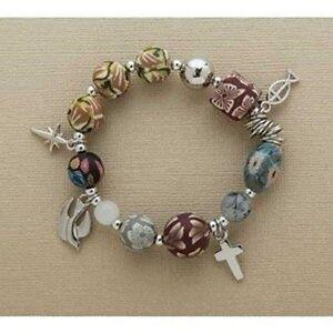 Roman-Inc-77918-Christ-Story-Clay-Bracelet