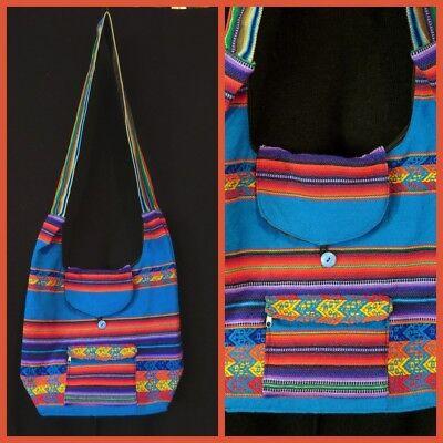 Bello Borsa Shopper Tradizionale Borsa Perù Inka Pattern Borsa A Tracolla Tribale Folklore Dina 4-mostra Il Titolo Originale Senza Ritorno