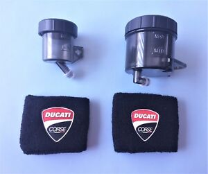 DUCATI-CORSE-748-916-1098-V4-PANIGALE-SMOKE-BRAKE-CLUTCH-RESERVOIR-HOSES-SOCKS