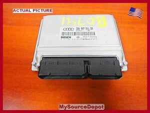 2001-2002-AUDI-A4-ENGINE-COMPUTER-ECM-0261207010-0-261-207-010