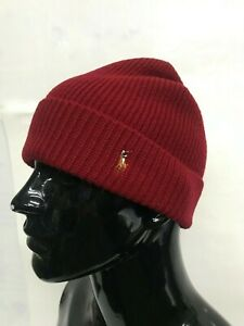 25fe0a2d09677 Image is loading NWT-ONE-SIZE-POLO-RALPH-LAUREN-MERINO-WOOL-