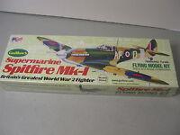 Guillows Kit 504 Spitfire Mk-1 Fighter Balsa Wood Airplane Model Kit -