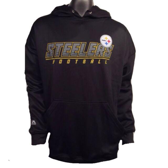 Pittsburgh Steelers Majestic NFL Big Man 5XL Hoodie Sweatshirt  70 CLEARANCE 4c3b20a61