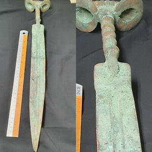 Musiam-quality-ancient-Roman-bronze-long-sword-CIRCA-100-300AD