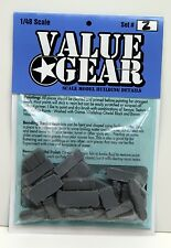 1/48 Universal Tent Tarp & Crate Set #2 - Value Gear Resin Stowage (27 Pieces)