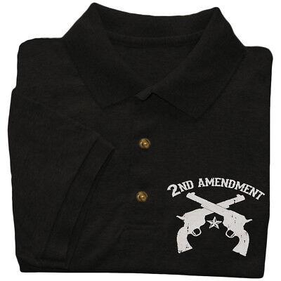 Men/'s long sleeve shirt 2nd amendment decal tee men/'s gift idea gun owner rights