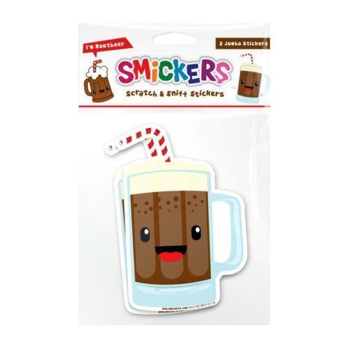 Smickers Root Beer Scented Sticker Set