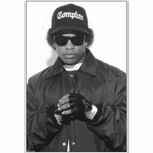 Silk Poster Eazy E NWA Rapper Hip Hop Music Singer Star B-1815