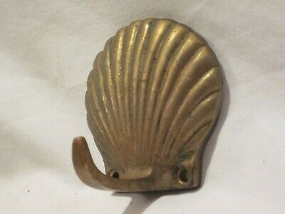 Vintage Brass Bronze Clasp Clip Hook Nautical Flag Metal Art Craft Snap €