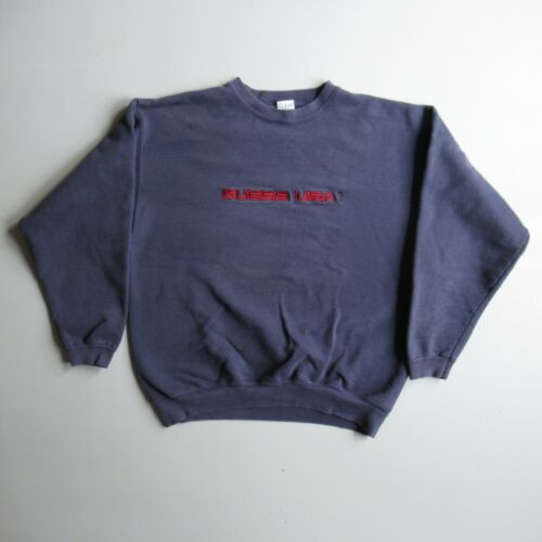 Vintage 90s GUESS USA Faded Blue Sweatshirt Shirt
